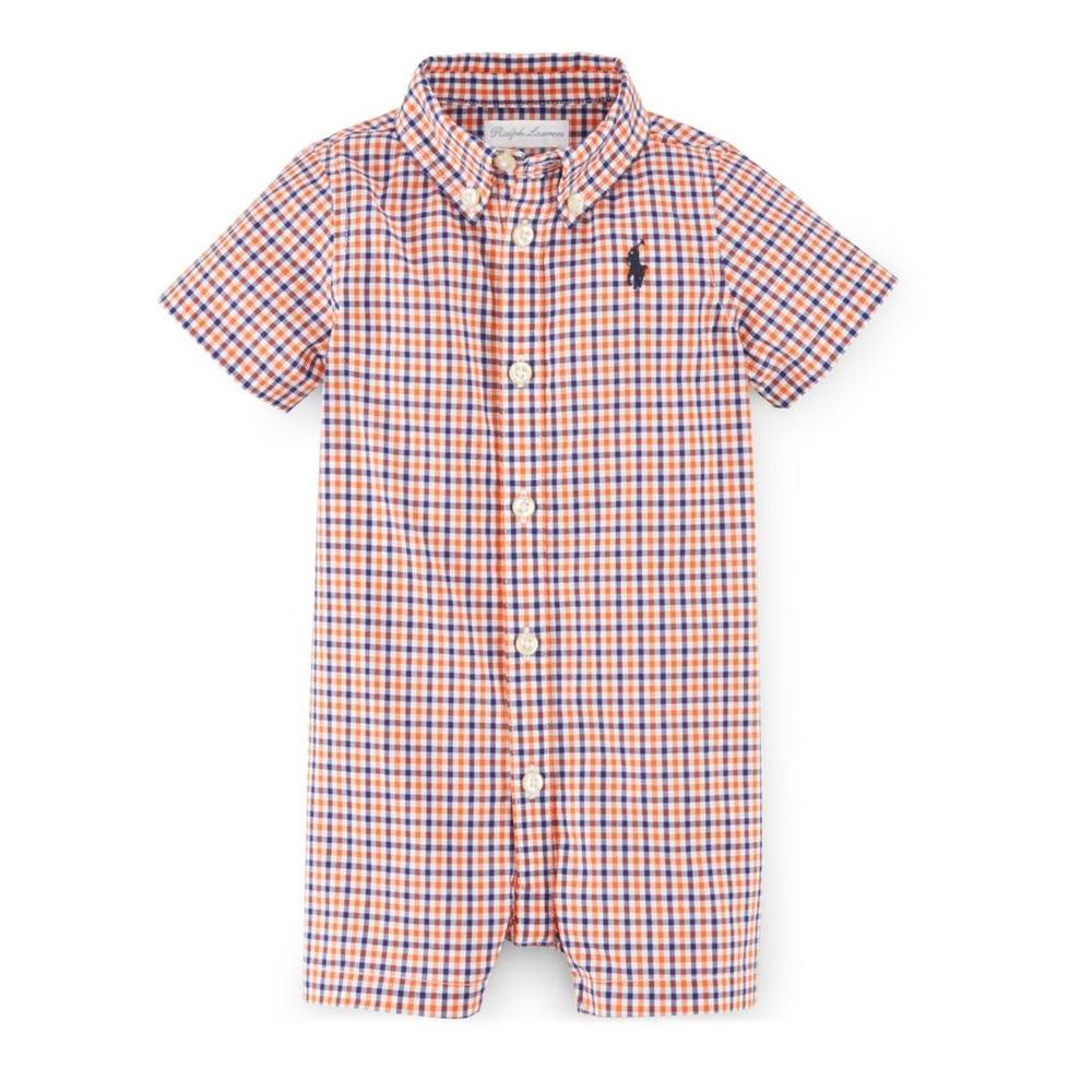 Ralph Lauren Check Shortall for Baby Boys