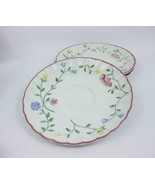 Johnson Bros. Summer Chintz Saucers (3) Made In... - $4.00