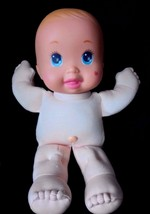 "Mattel Vintage 1991 Magic Nursery 11"" Tiny Wonders Preemie Baby Doll - $15.63"