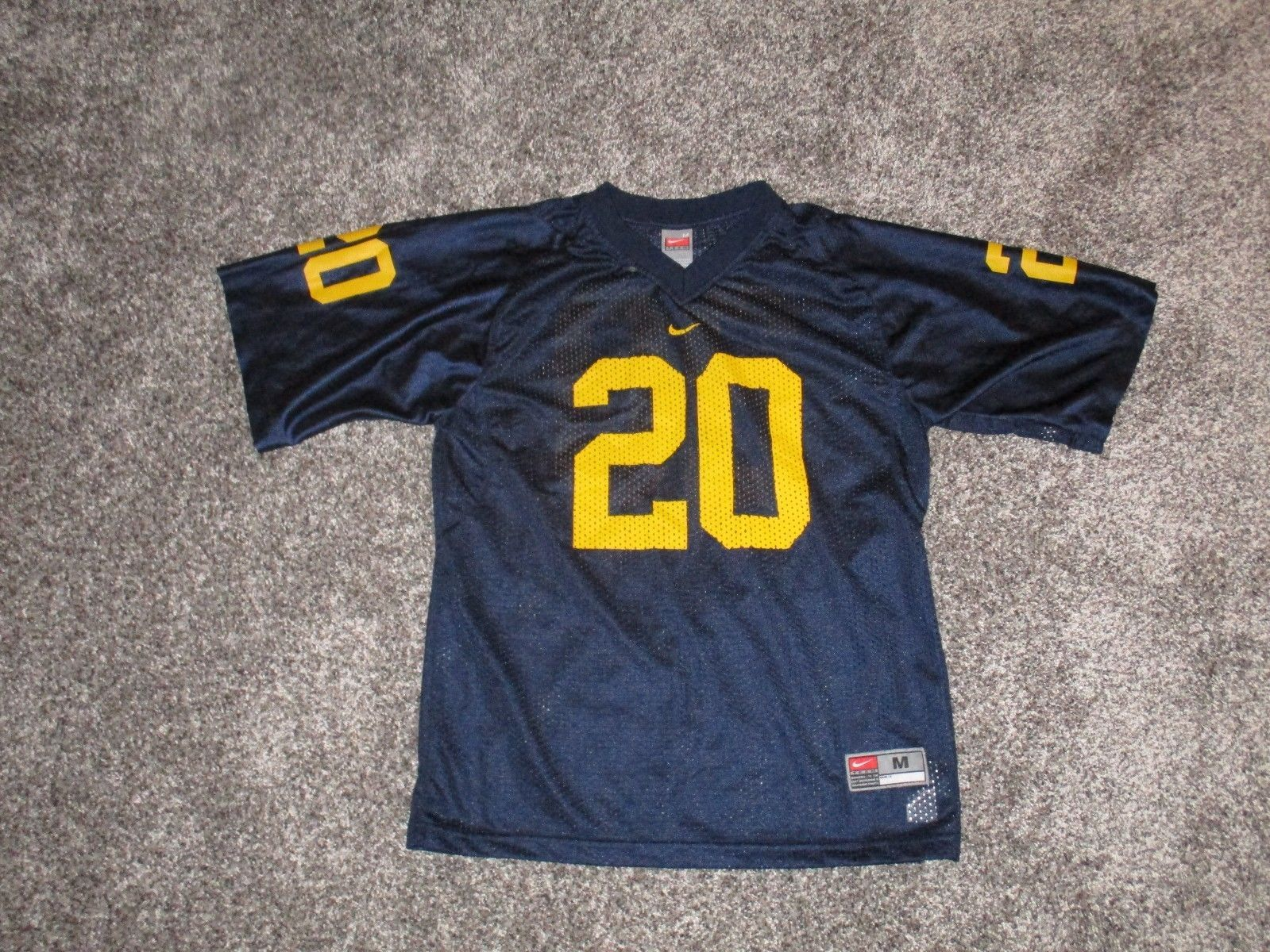 separation shoes 66a67 5ee84 NIKE Michigan Wolverines #20 Football Jersey and 50 similar ...