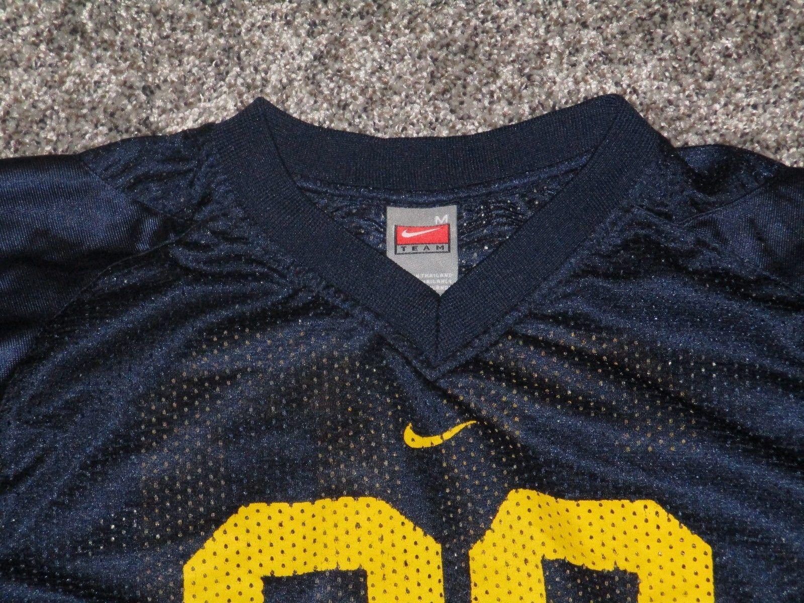 NIKE Michigan Wolverines #20 Football Jersey Youth Medium, Maize & Blue
