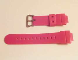 New Mens Ladies Casio G SHOCK AW582 Original Watch Band Strap Shiny Pink... - $23.81