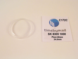 Watch Crystal For SEIKO 8305 1000 AUTOMATIC Plexi-Glass New Spare Part C... - $18.79