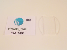 FOR FRANCK MULLER FITS 7851 WATCH REPLACEMENT 34mm X 26mm GLASS CRYSTAL ... - $28.83