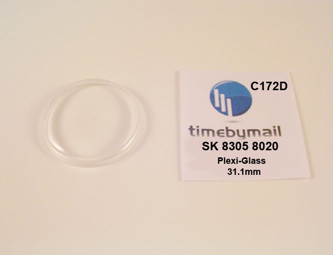 Watch Crystal For SEIKO 8305 8020 DIASHOCK SEA LION M99 Plexi-Glass Part C172D