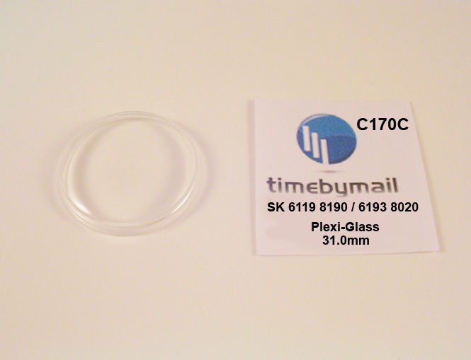 Primary image for Watch Crystal For SEIKO 5 6119 8190 / 6193 8020 Automatic Plexi-Glass Part C170C
