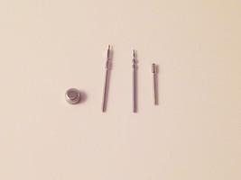 4Pc WATCH CROWN WINDER STEM SET STAINLESS STEEL 4mm A1C - $11.27