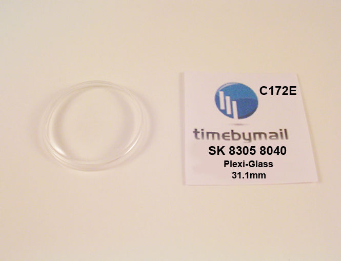Watch Crystal For SEIKO 8305 8040  SEA LION M99 Plexi-Glass New Spare Part C172E