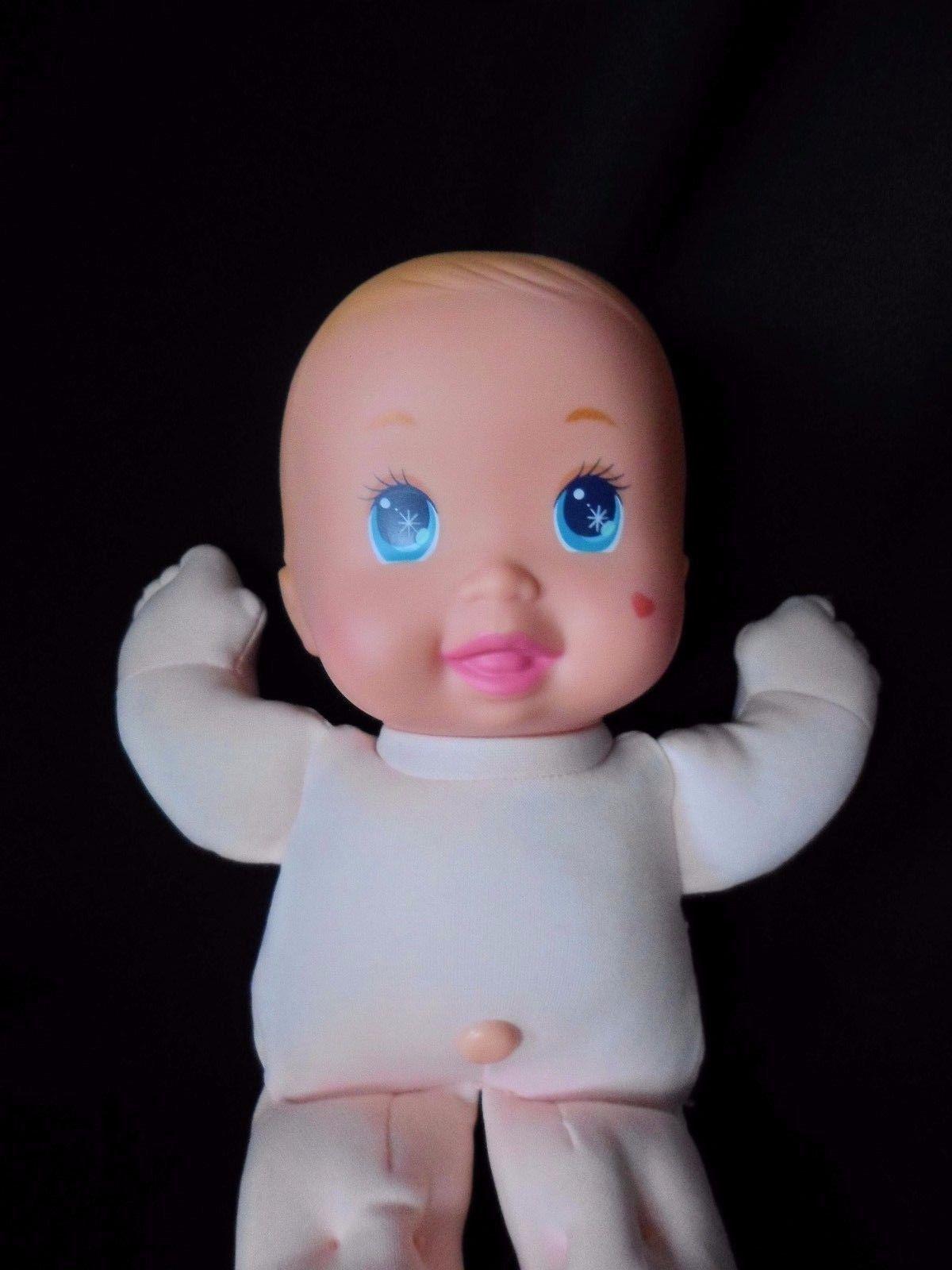 """MATTEL Vintage 1991 MAGIC NURSERY 11"""" Tiny Wonders Preemie BABY DOLL"""