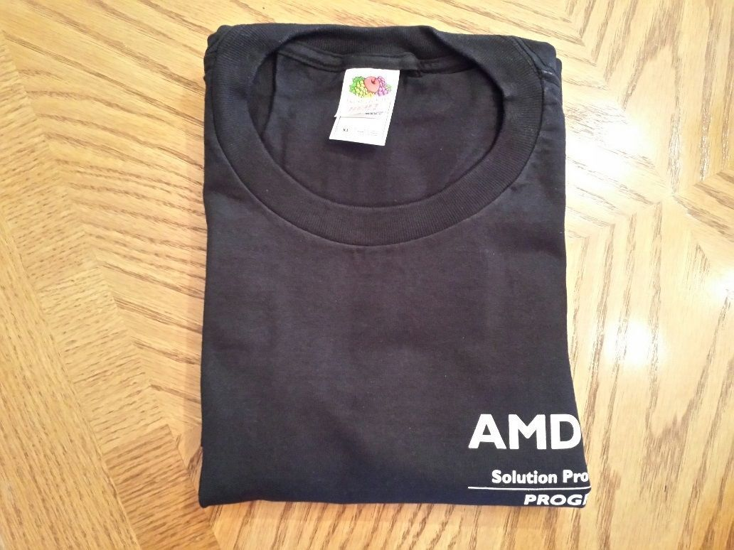 Vintage AMD Solution Provider, 64 Athlon T-Shirt, XL