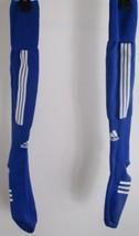 Vintage ADIDAS Blue Knee-High Soccer Socks Adult Size - $9.89