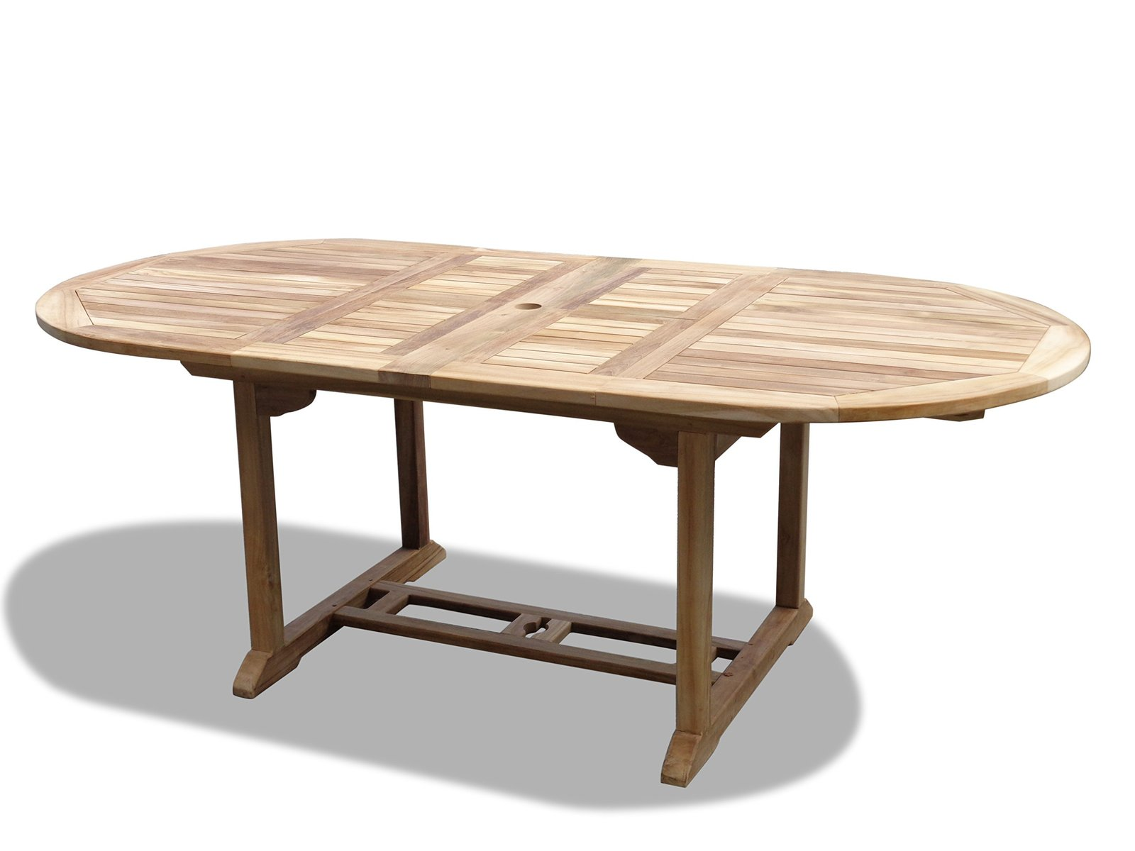 """Windsor Premium Grade A Teak 82""""x39 Oval  Extension Table w/8 Chippendale Chairs"""