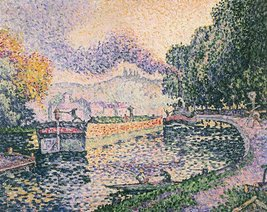 Roshni Arts - Famous Masterpieces 100% Hand Painted Oil on Canvas - Signac -... - $315.81