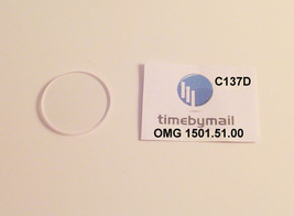 For Omega Constellation Co Axial 1501.51.00 Sapphire Watch Crystal Part C137D - $56.42