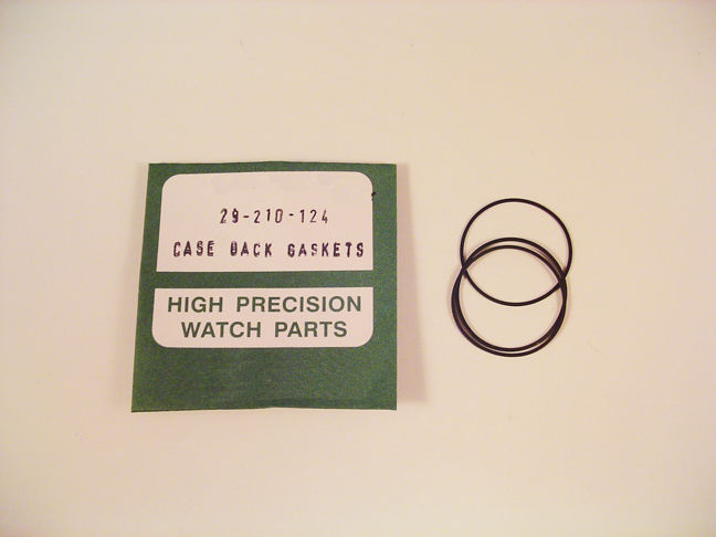 NEW! 3X WATCH O RING SEALS GASKETS FOR ROLEX 29-210-124 CASE BACKS P5A