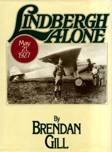 Lindbergh Alone [May 01, 1980] Gill, Brendan