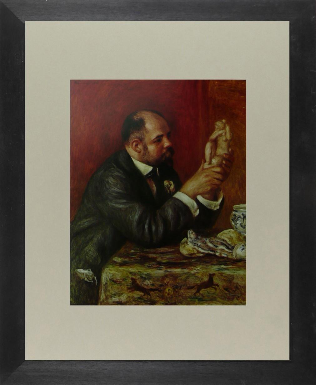 Portait of Ambroise Volland - Renoir - Framed Picture 11 x 14