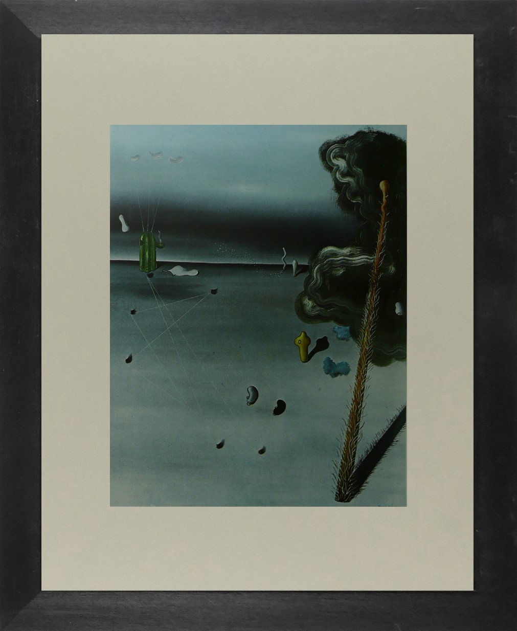 Outside - Yves Tanguy - Framed Picture 11 x 14