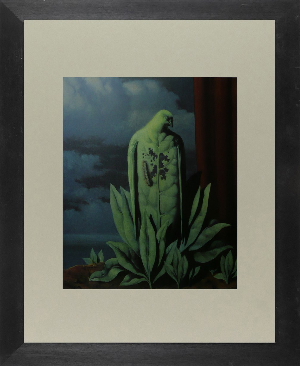 The flavour of tears - Ren Magritte - Framed Picture 11 x 14