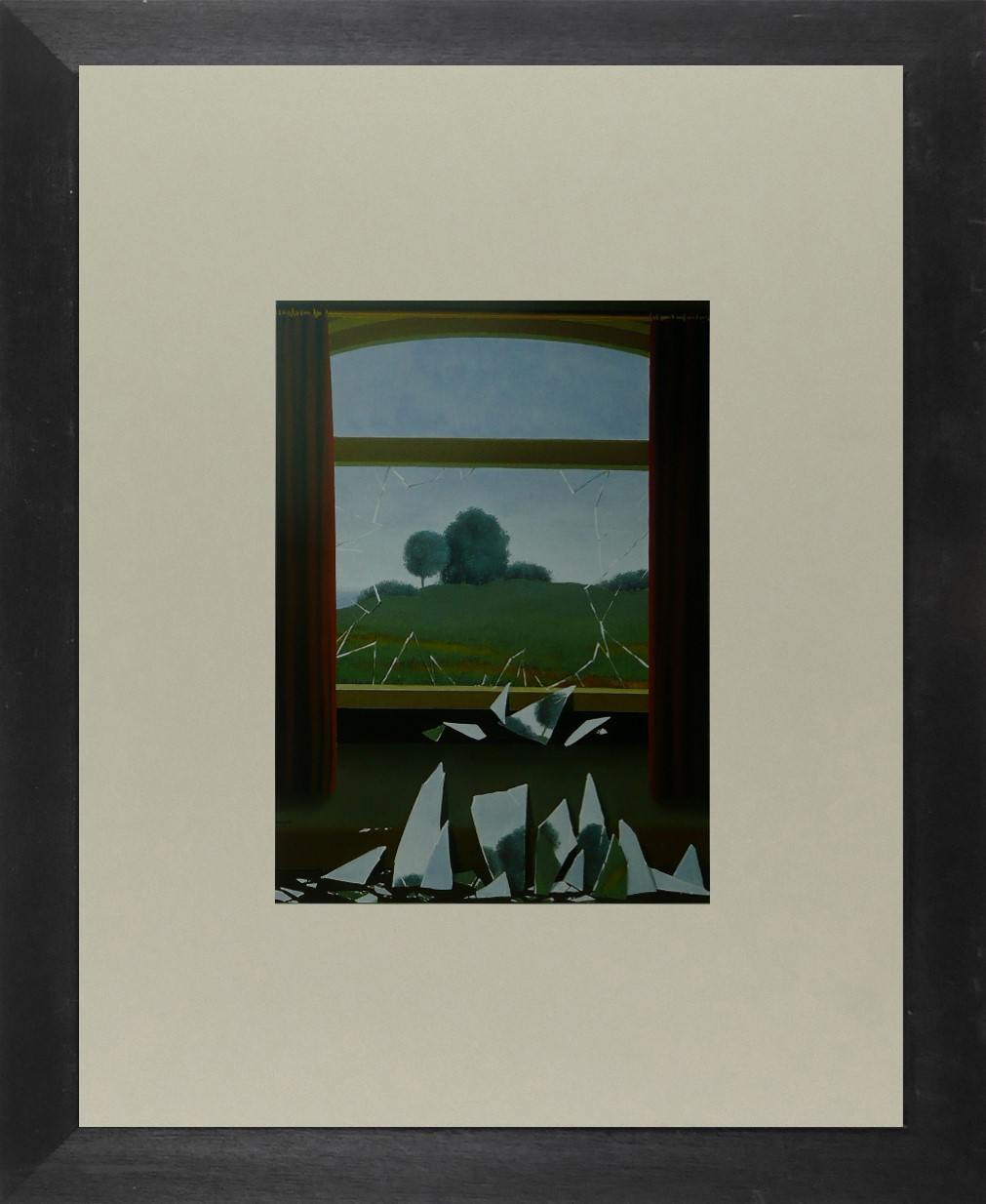La Clef des Champs - (The key to the fields) - Magritte - Framed Picture 11 x 14