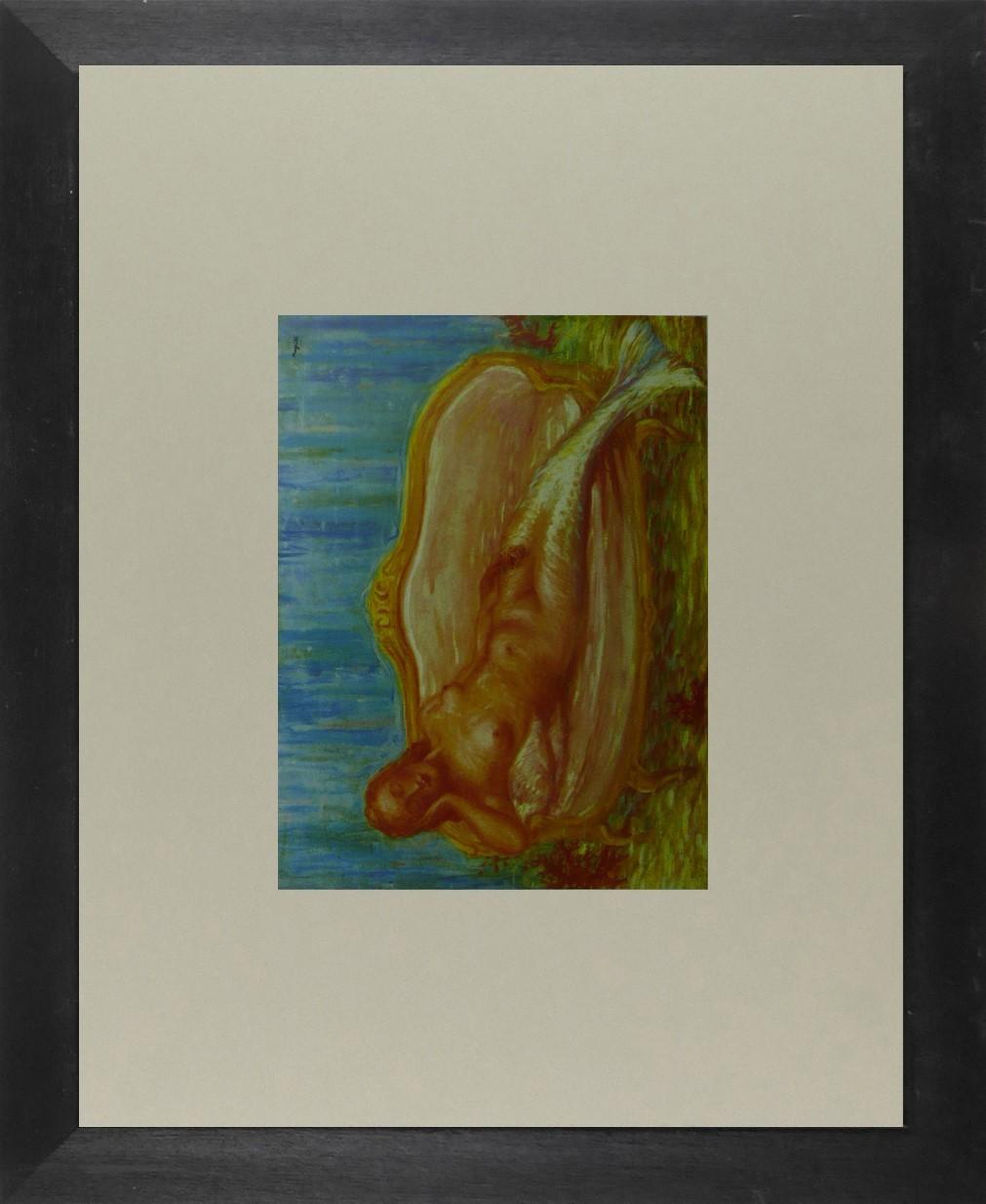 The Forbidden Universe - Ren Magritte - Framed Picture 11 x 14