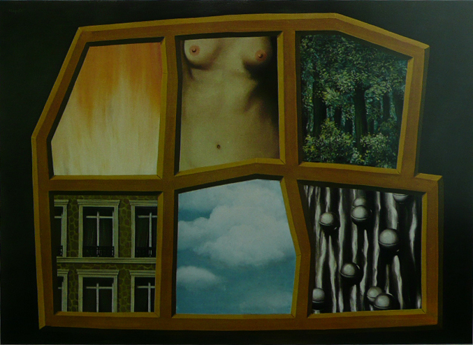 The Six Elements - Ren Magritte - Framed Picture 11 x 14