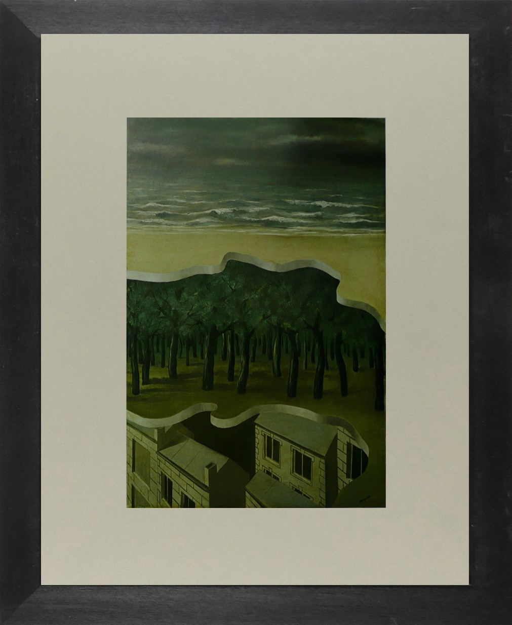 Popular Panorama - Ren Magritte - Framed Picture 11 x 14