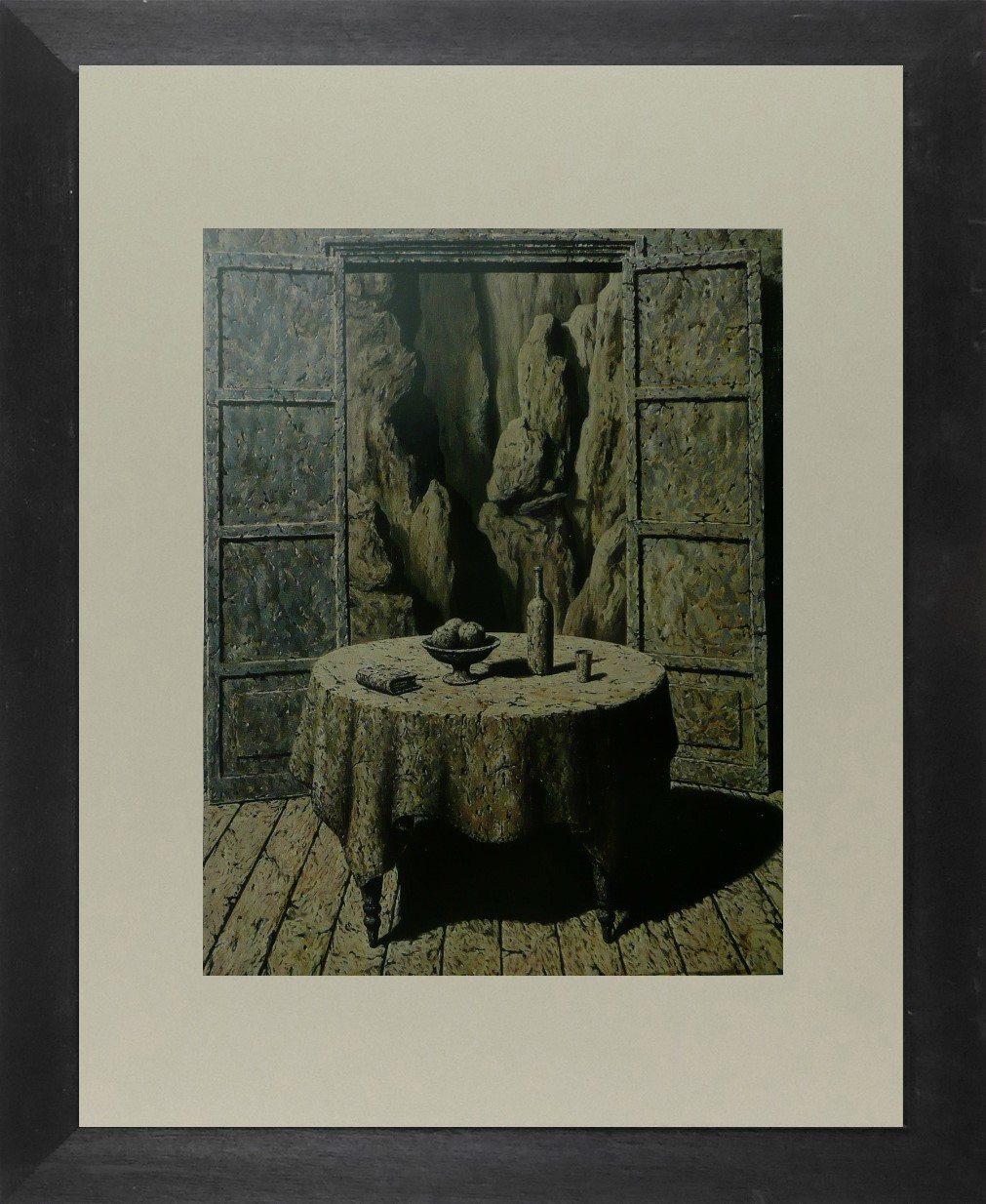 Recollections of Travels - Magritte - Framed Picture 11 x 14