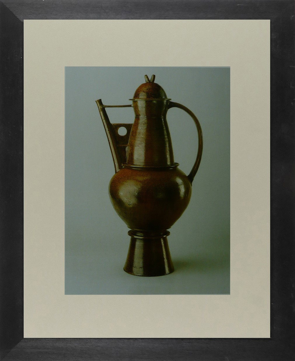 Otto Lindig - Copper kettle  (Bauhaus) - Framed Picture 11 x 14