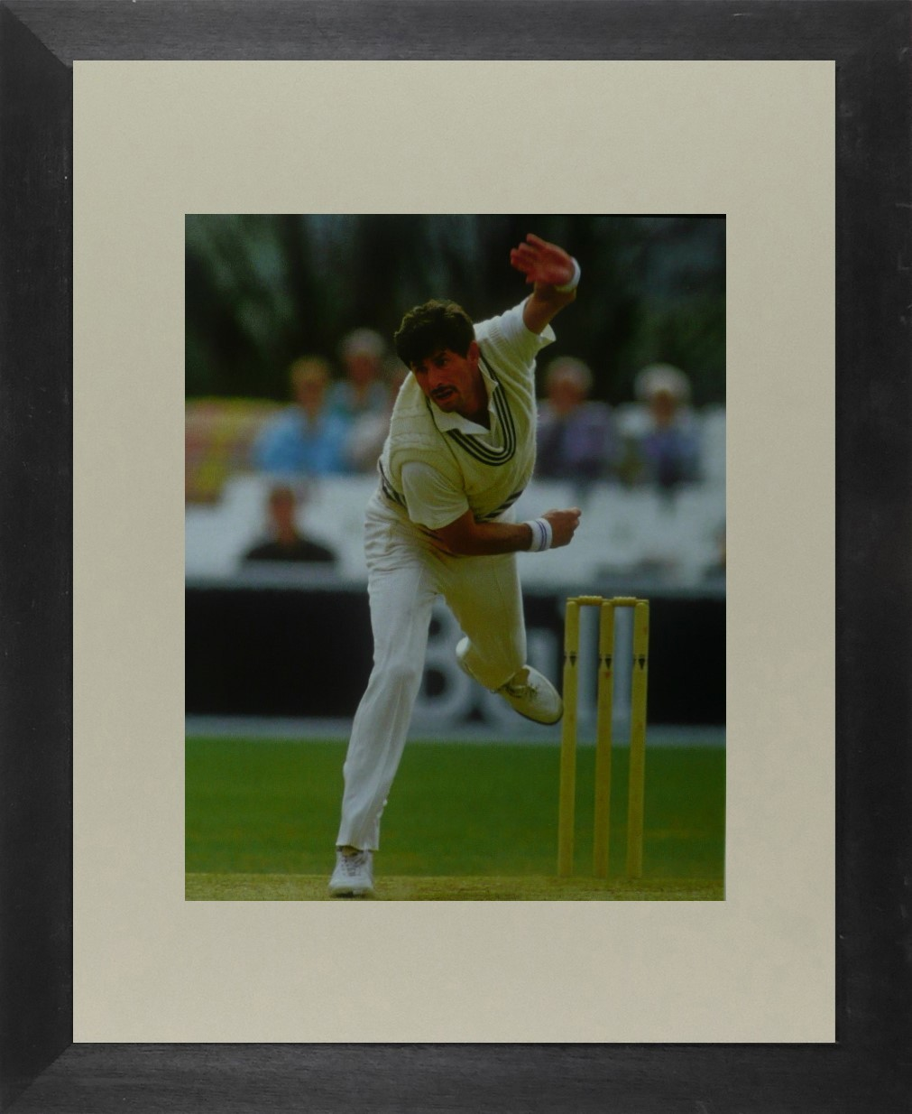 Richard Hadlee (Cricket) - Framed Picture 11 x 14