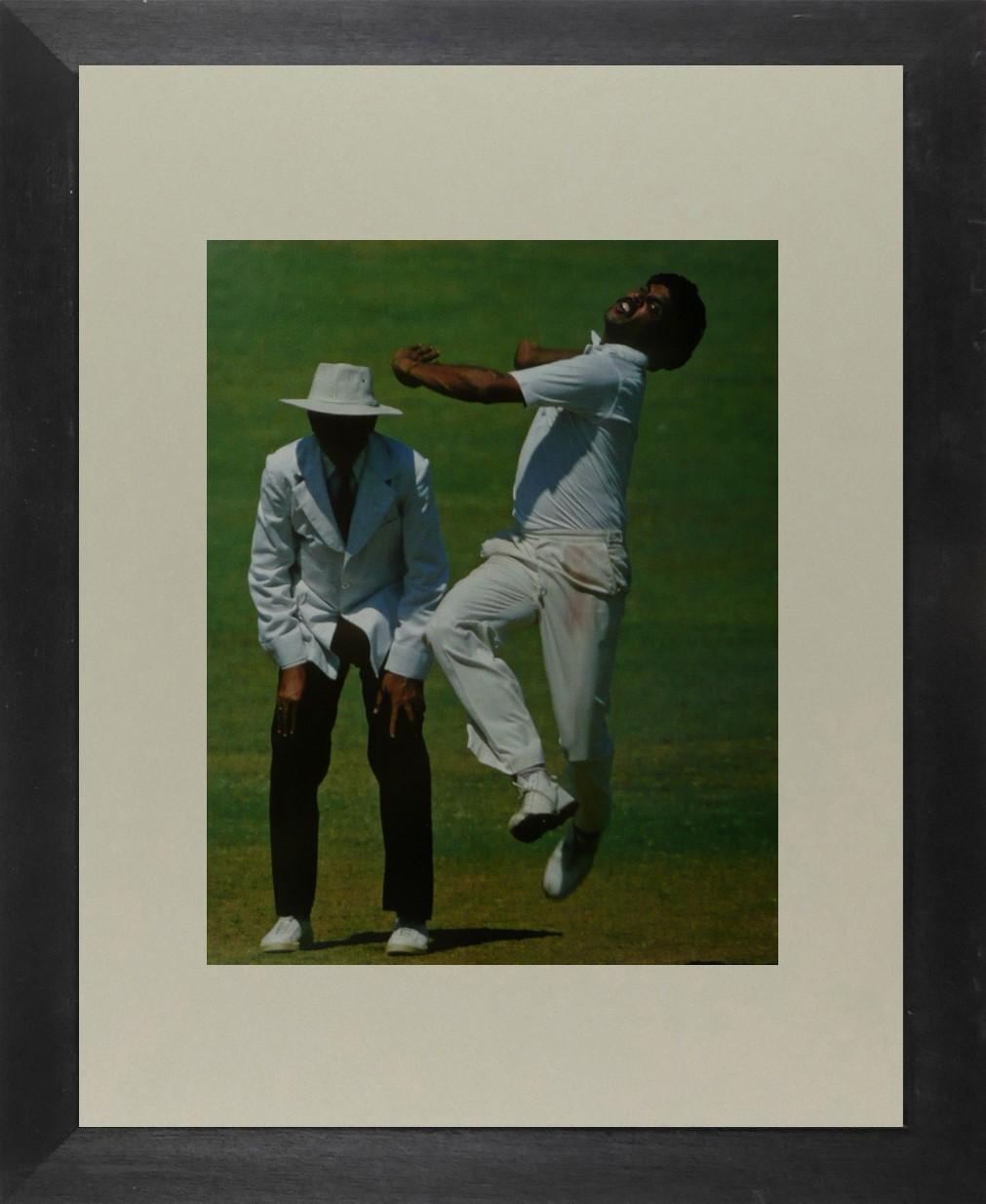 Kapil Dev (Cricket) - Framed Picture 11 x 14