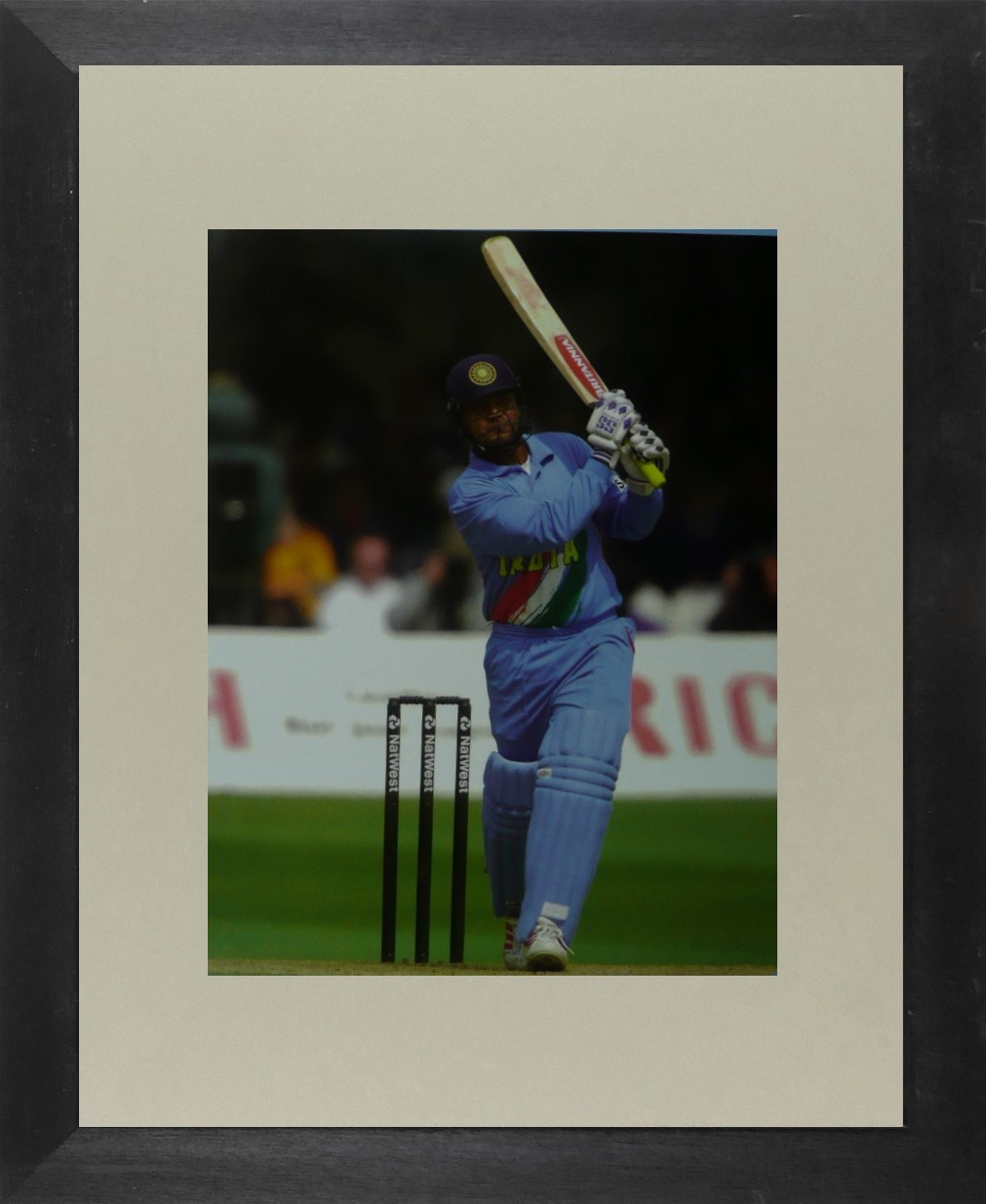 Virender Sehwag (Cricket) - Framed Picture 11 x 14