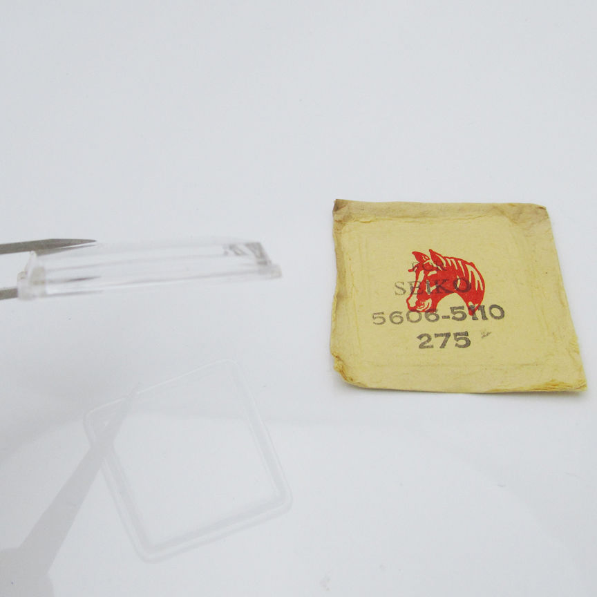 NOS For SEIKO Lord Matic 5606 5110 Watch Glass Crystal Plexi-Glass Part C173D