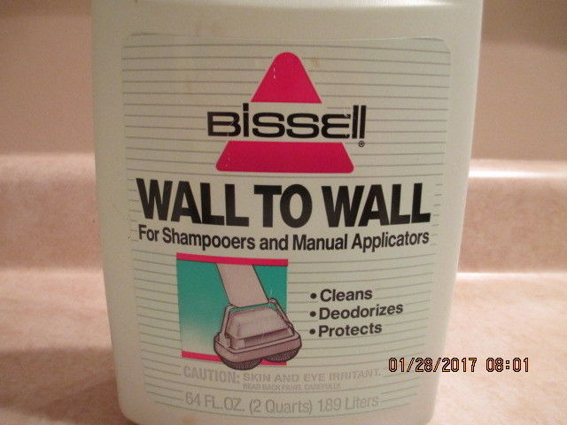 Bissell Wall To Wall For Shampooers and Manual Applicators Vintage