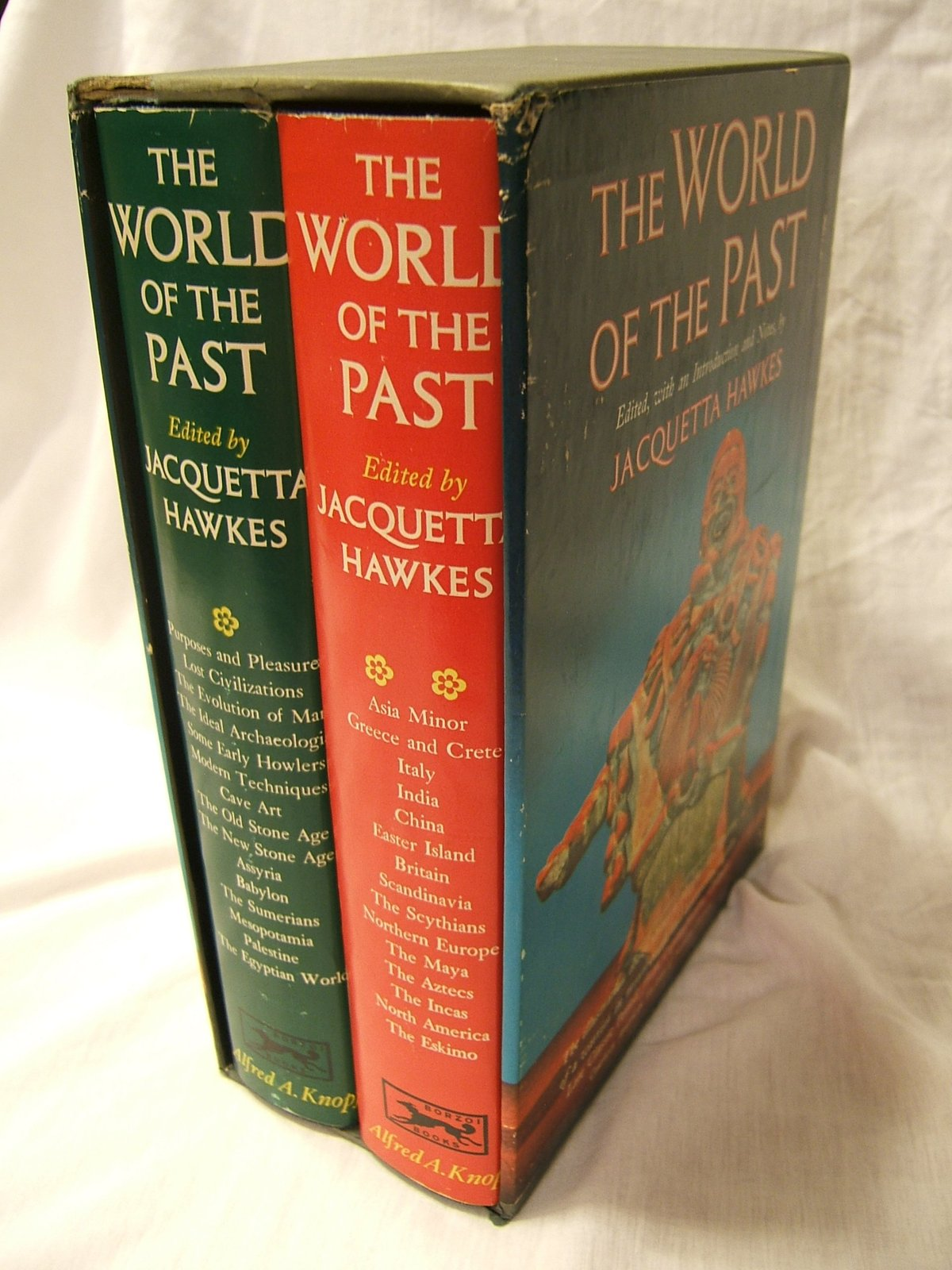 The Worlds of the Past (2 Vols). [Hardcover] [Jan 01, 1963] Jacquetta Hawkes;...