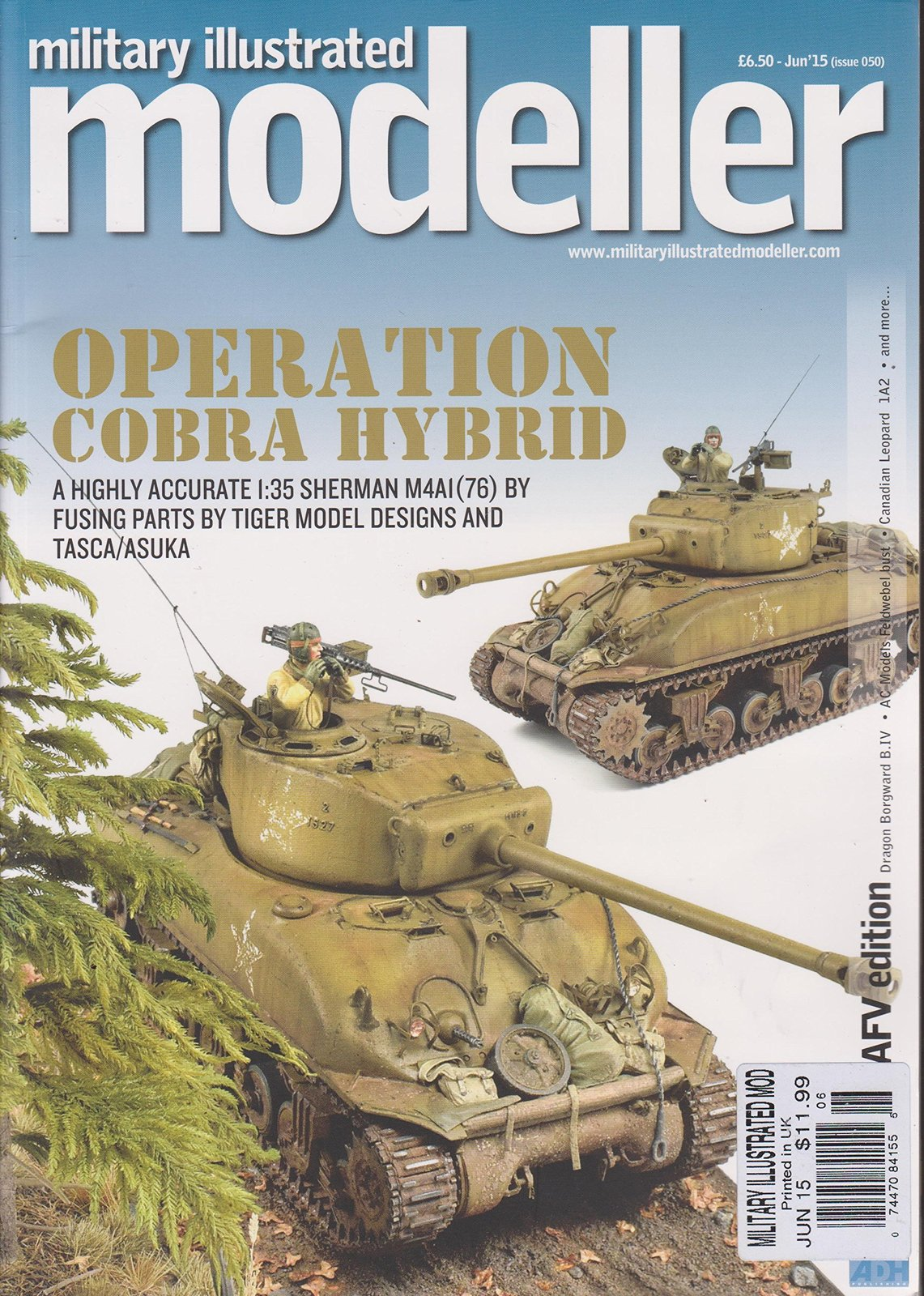 Military Illustrated Modeller Magazine June 2015 [Single Issue Magazine] [Jan...