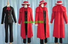 Alucard Cosplay from Hellsing  any size shirt coat pants cap - $79.20