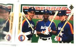 1991 Upper Deck #702 Rookie Threat Astros Bagwell ROOKIE HOF 9.5 MINT+ - $16.65