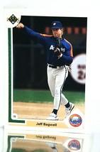 1991 Upper Deck #755 Jeff Bagwell ROOKIE CARD Elected to HOF '17 Astros, NM-MT+ - $19.59