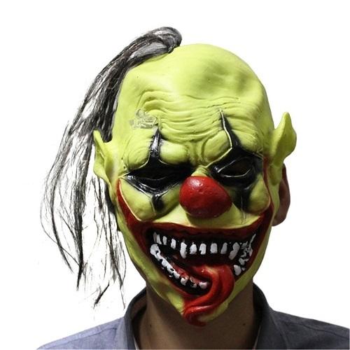 Green horror face mask 1