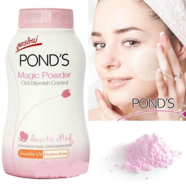 Magic Powder POND's Sweetie Pink Oil Blemish Control Double UV Protect 3X50 g.