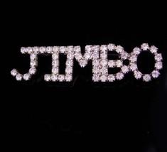 Vintage Rhinestone Brooch / Jimbo Pin / personalized jewelry / jim nickn... - $95.00