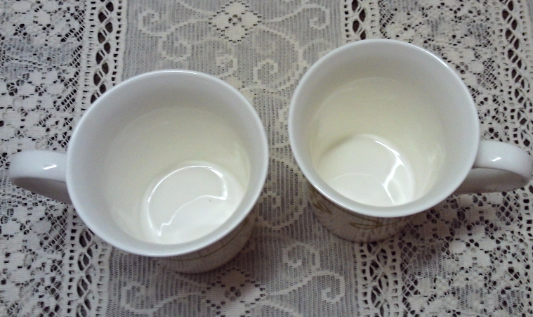 Discontinued Collectible STARBUCKS COFFEE CUPS Celtic LIke Pattern