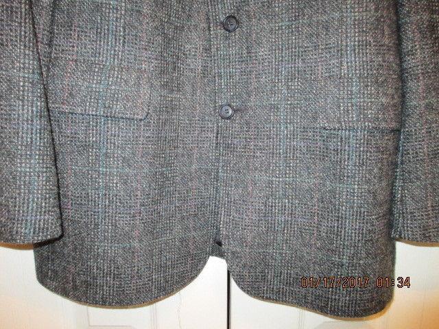John Weitz by Palm Beach Men's Suitcoat Herringbone Pattern