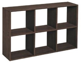 6 Cube Horizontal Organizer Closetmaid Cubeical... - $32.95