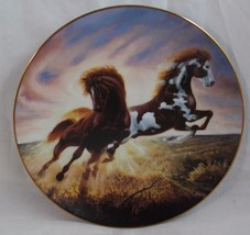 """Unbridled Spirit """"Sunrise Surprise"""" Horse Collectors Plate by Chuck DeHann - $25.99"""