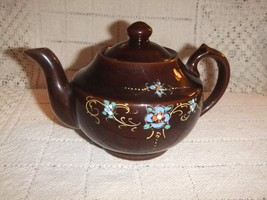 Vintage Teapot Small Hand Painted Japan  #2 - $15.78
