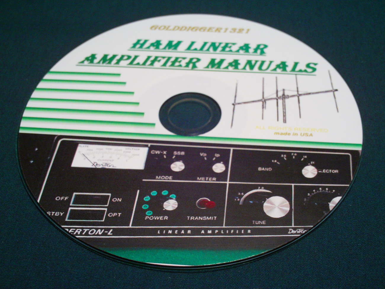 HAM LINEAR AMPLIFIER MANUALS ON CD