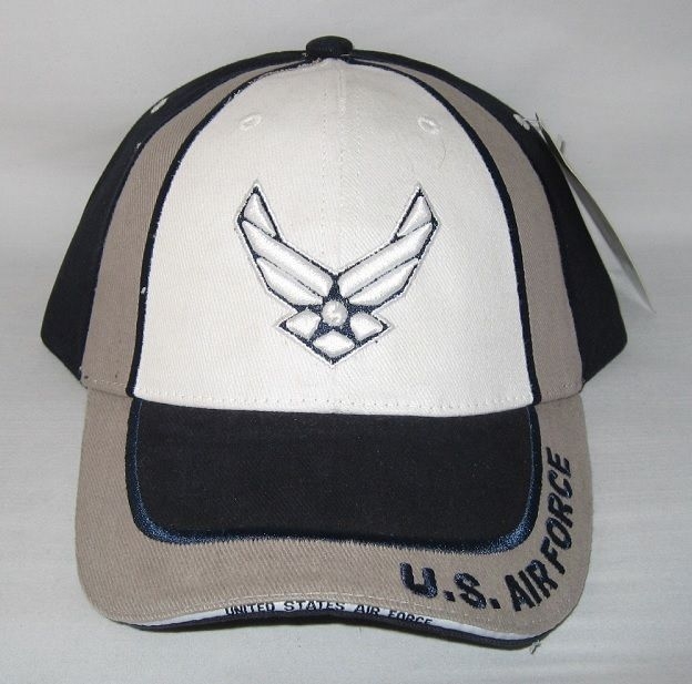 Primary image for NEW USAF U.S. Air Force logo cap hat. Navy Blue. 5501
