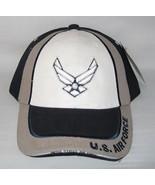 NEW USAF U.S. Air Force logo cap hat. Navy Blue. 5501 - $14.84